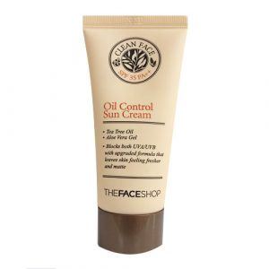 Clean Face Oil Control Sun Cream