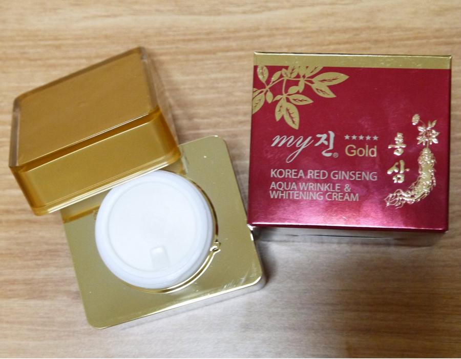Kết quả hình ảnh cho Kem Dưỡng Da Hồng Sâm My Gold Hàn Quốc